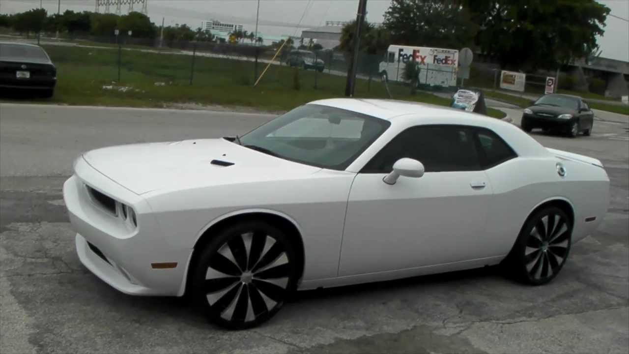 Dubsandtires Com 2009 Dodge Challenger Review 22 Black