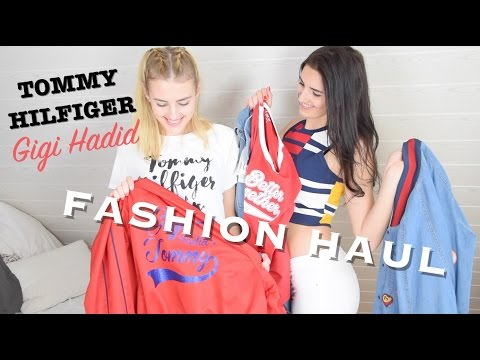 * TRY ON FASHION HAUL * l Tommy Hilfiger & Gigi Hadid l BlankSisters