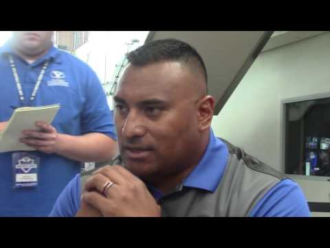 Kalani Sitake and Ty Detmer on BYU Media Day