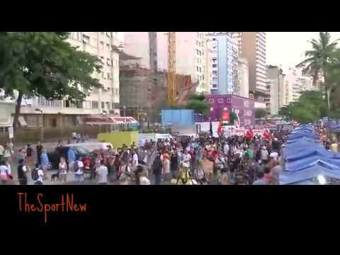 Protests against the World Cup 2014 in Brazil / Протесты против чемпионата мира в Бразилии