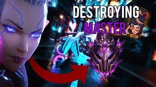 Vaysu | DESTROYING MASTER TIER WITH VAYNE