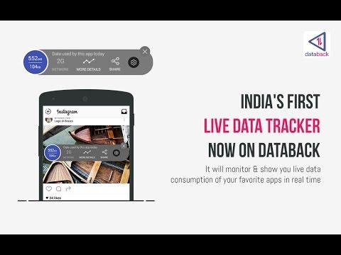 Databack Live Data Tracker - Most Advanced Mobile Data Tracking