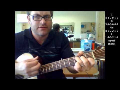 How To Play Amazed By Lonestar On Acoustic Guitar Youtube