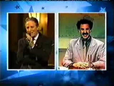 "The Daily Show, Jon Stewart and Borat – ""The Jew"""