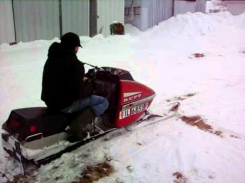 1973 Rupp Nitro 400 1 Youtube