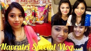 VLOG : Celebrating Navratri With My In Laws || Indian Mom Travelling To In Laws Place