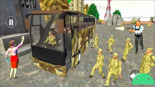 Army Bus Driver 2021 - Real Military Coach Simulator - Android Gameplay screenshot 2