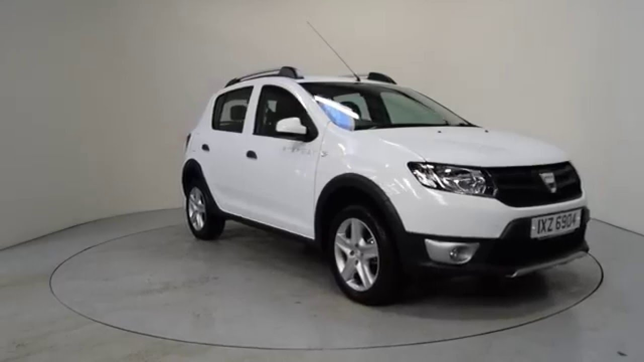 2016 dacia sandero stepway dacia sandero stepway ni shelbourne motors ixz6904 youtube. Black Bedroom Furniture Sets. Home Design Ideas