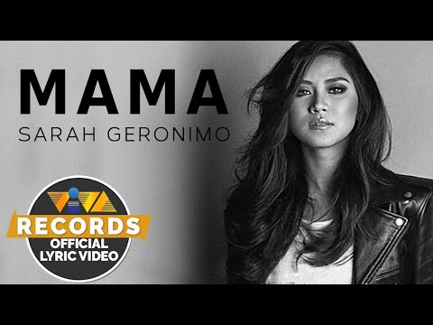 Sarah Geronimo — Mama (Official Lyric Video)
