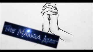 How to draw manga hands in romantic position