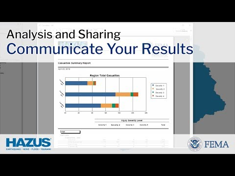 Hazus | Communicate Your Results