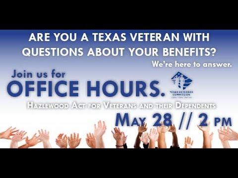 Office Hours- Hazlewood Act