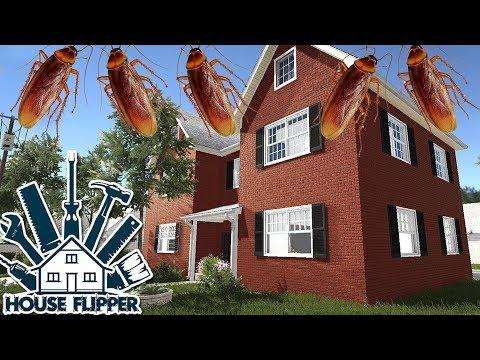 Evi Hamam Böcekleri Sarmış | House Flipper #3