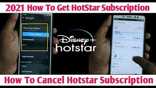 2021 How To Get HotStar Subscription & How To Cancel Hotstar Subscription in Tamil