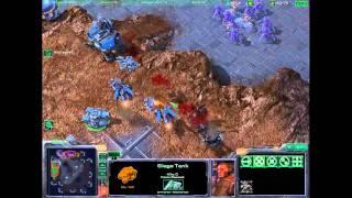 StarCraft2 - Terran 2v2 1/1/1 Build