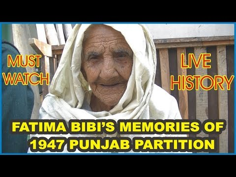 Fatima Bibi's Memories of her old village in Firozpur || 1947 Partition Story