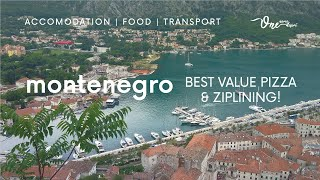 2 Days in MONTENEGRO | Kotor Walls + North Montenegro Tour | Balkans May 2018
