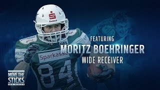 The German Randy Moss? Meet WR Prospect Moritz Boehringer | Move the Sticks 360 series | NFL