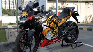 Ninja 250R Best mods [HD] [Kawasaki-Bikers.gr] PART 2