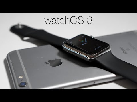 Watch OS 3 is Out! - What's New?