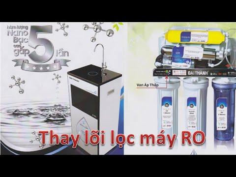 Hướng dẫn thay lõi máy lọc nước RO Đại Thành tại nhà đúng cách