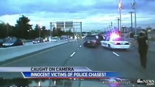 Dash Cams Capture Harrowing and Dangerous Police Chases