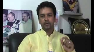 Anurag Thakur, BJP || Winner from Hamirpur, Himachal Pradesh