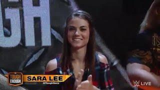 Tough Enough Sara Lee - Summer Rae vs Lana - Velvet Sky vs Angelina Love - Paige vs Alicia Fox