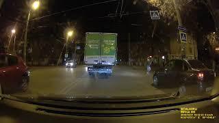 Видеорегистратор с радар детектором M O M VUE I90   ночная съёмка