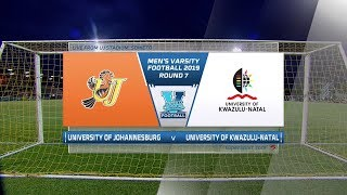 Varsity Football | UJ v UKZN  | Highlights