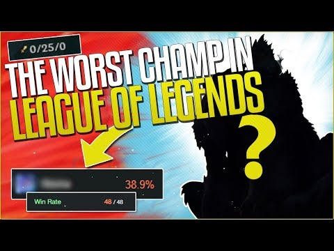 THE WORST CHAMPION GOING INTO SEASON 8! DODGE ON SIGHT (Buffs Inc.) - League of Legends