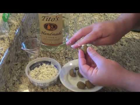 Don's Cocktail Corner: Dirty Vodka Martini with Blue Cheese Olives