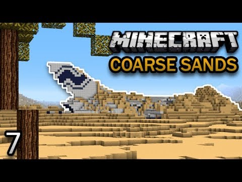 Minecraft: Coarse Sands Survival Ep. 7 - PYRAMID PROBLEMS
