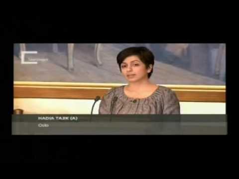 Hadia Tajik: Forebygge eller reparere?