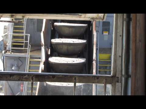 PF 129 vedersoros kotró / Baggermolen / Bucket Dredger / HD