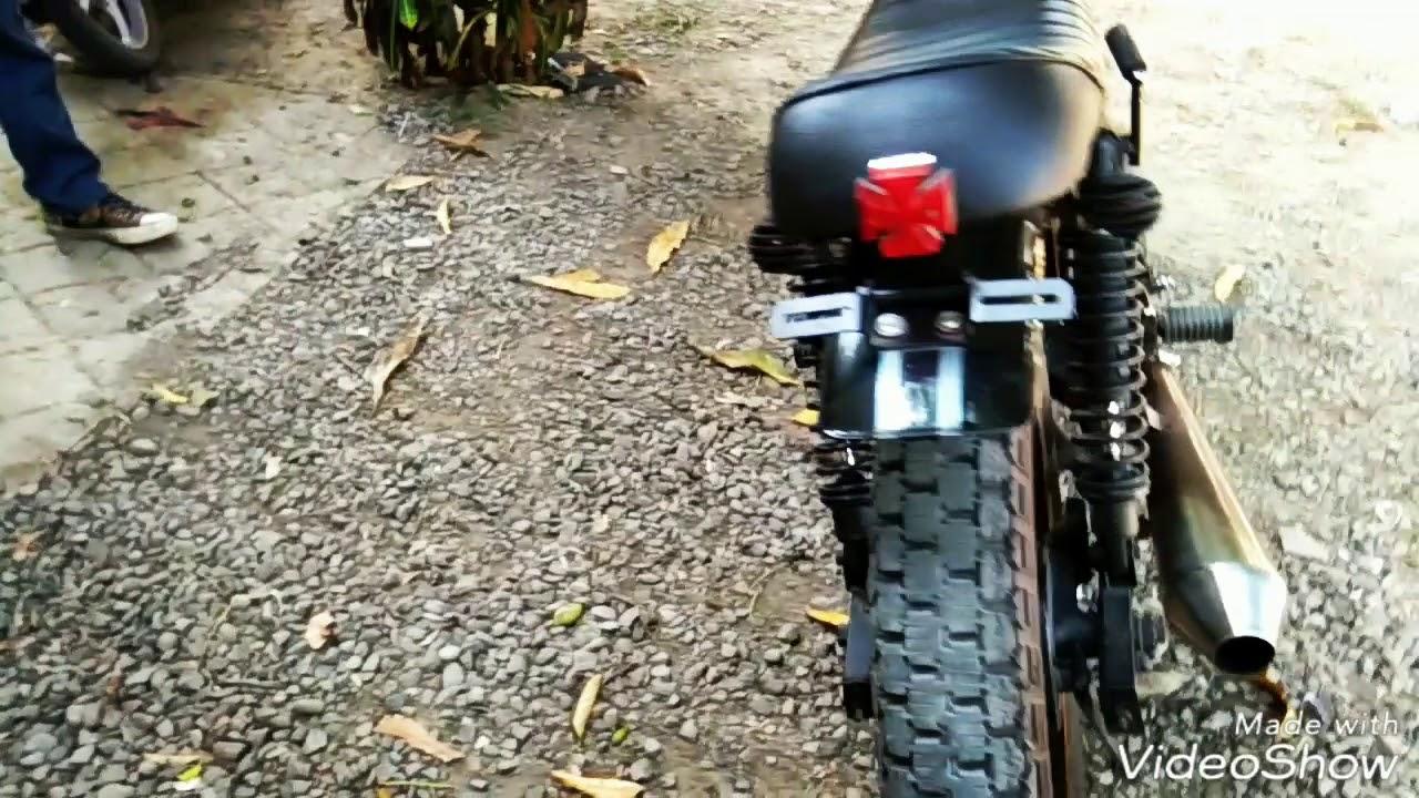 Modifikasi Motor Tiger 2000 Menjadi Model Japstyle 200cc