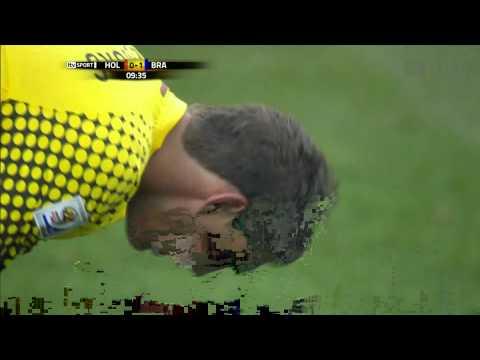 holland vs brazil 2010 Goal ROBINHO HD