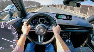 NEW Mazda MX-30 | TOP Speed | 0-100 | POV Test Drive #720 Joe Black