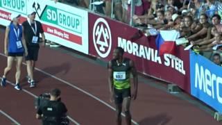 Usain Bolt 100m Golden Spike 2017 Zlatá tretra Ostrava 2017