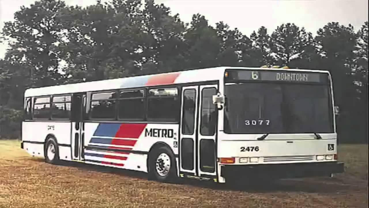 Audio Recording Of Houston Metro 1993 Am Ikarus 416 03 Bus