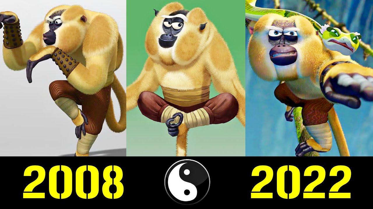 🐵 Обезьяна - Эволюция (2008 - 2022) ! Все Появления Мастера Шутника 😜!