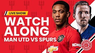 Manchester United 2-1 Tottenham   Live
