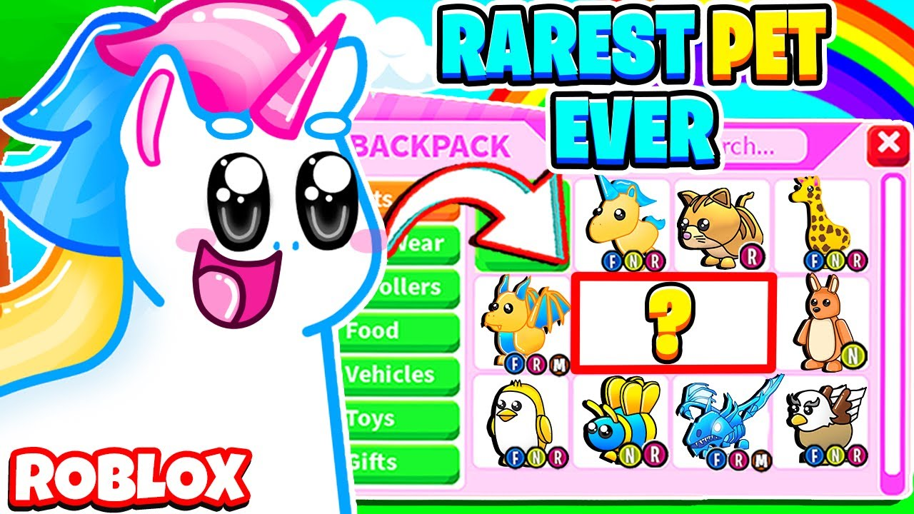 How To Get The Rarest Pets In Adopt Me Roblox Adopt Me Graphic Design