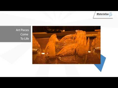 MELINDA LOOI and MATERIALISE First 3D PRINTED FASHION SHOW in Asia 14 June 2013