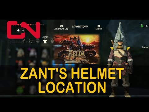 Zelda BoTW Zant's Helmet Location - Usurper King Quest - Champions Ballad DLC
