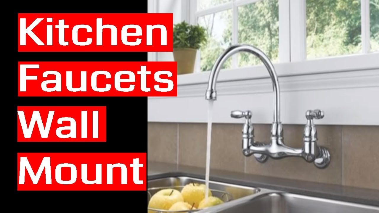 Delicieux Kitchen Faucets Wall Mount
