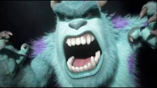 Monsters university final biggest roar scene