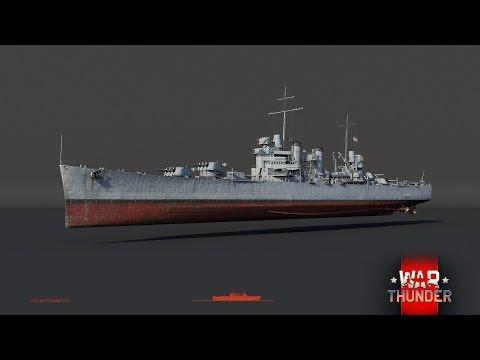 War Thunder - Upcoming Content - USS Brooklyn Light Cruiser