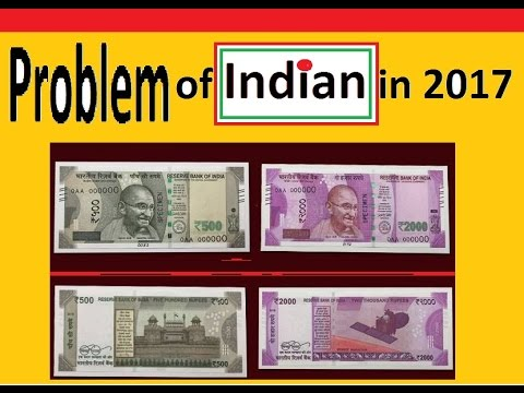 Problem Of Indian In 2017   Modi need suggestion   BLACK MONEY