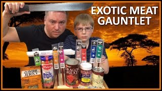 Exotic Meat Gauntlet : Alligator, Zombie, Ostrich, Dragon, Kangaroo, etc